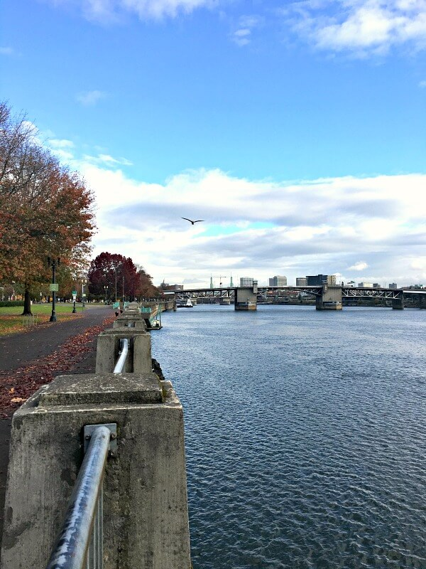 Portland Waterfront Running