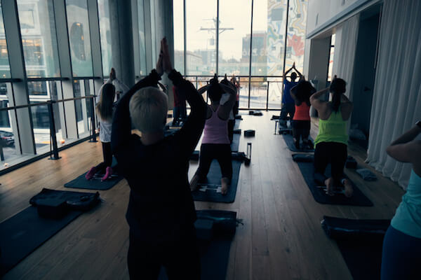 yoga knot springs portland