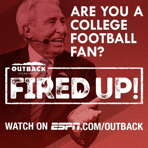 ESPN and Outback Fired Up!