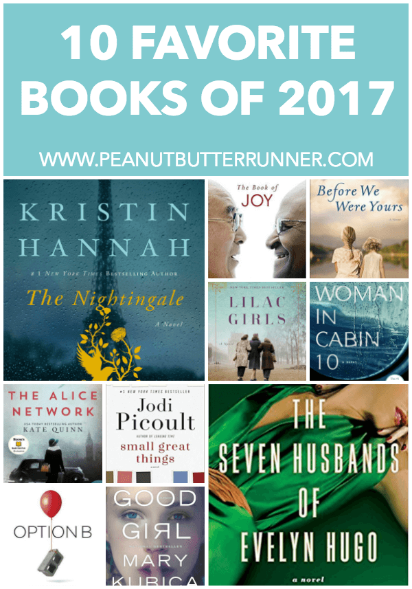 My 10 favorite books of 2017.