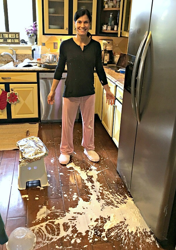 kitchen disaster
