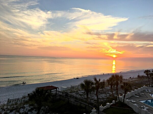 fort walton beach sunset
