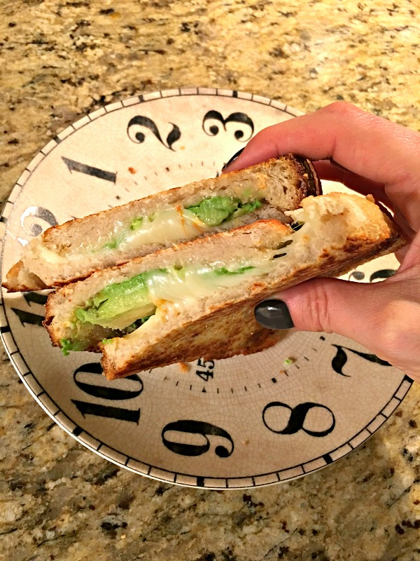 grilled cheese and avocado