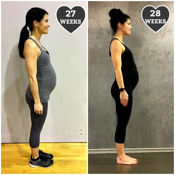 Pregnant Bellies At 28 Weeks
