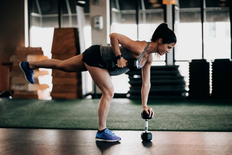Compound Movement Dumbbell Workout