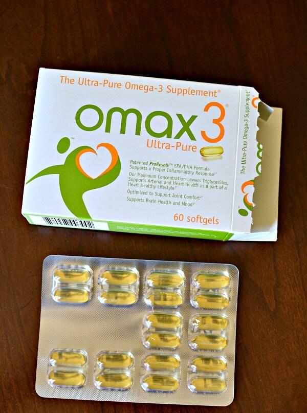 Omax Omega-3 Supplement