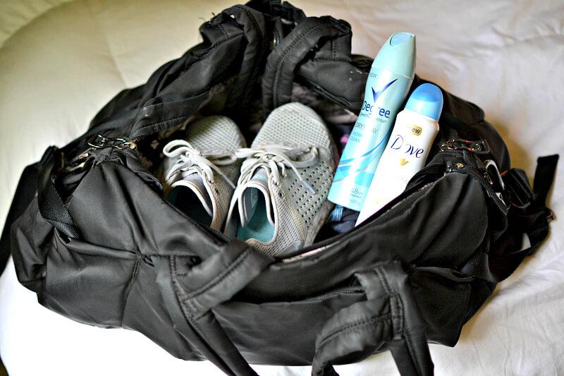 best deodorant for gym bag