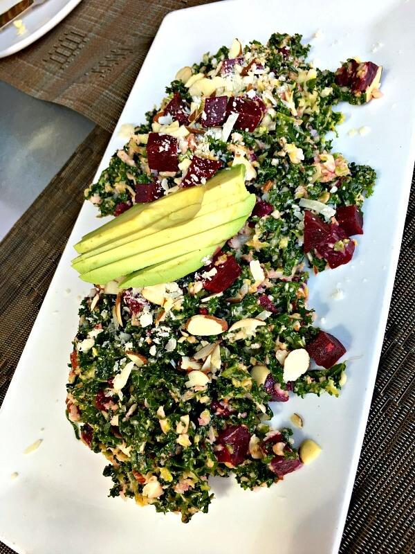 namastay kitchen kale salad