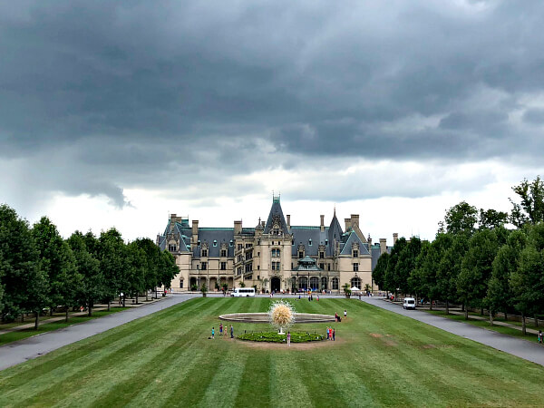 Biltmore Estate with a Baby