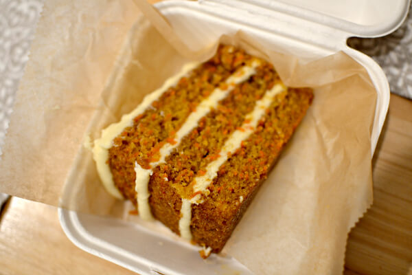 French Broad Chocolate Lounge Carrot Cake