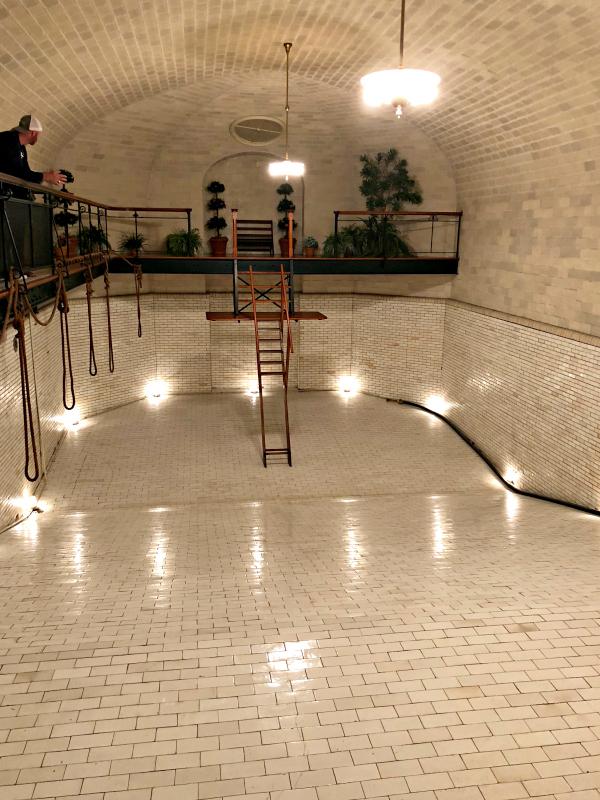 biltmore estate indoor pool