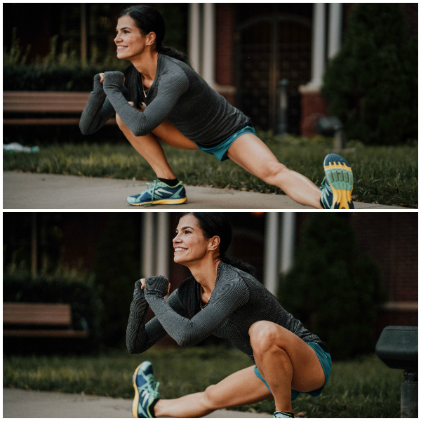 Lateral Lunges