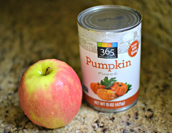 pumpkin and apple