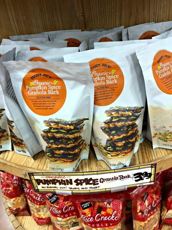 Trader Joe's Pumpkin Spice Granola Bark