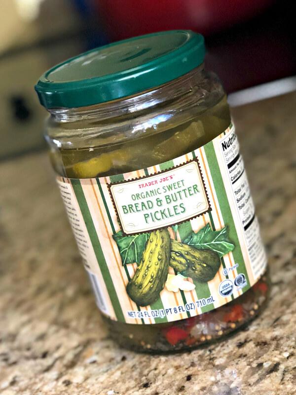 Trader Joe's Organic Sweet Bread & Butter Pickles