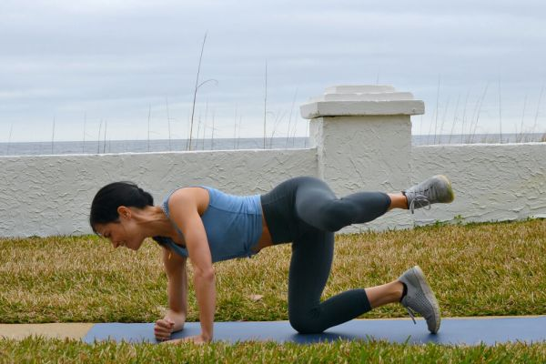 Glute and hip strengthening exercise