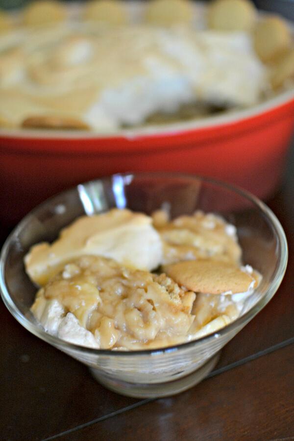 Peanut Butter Banana Pudding