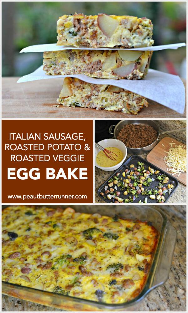 italian sausage egg bake