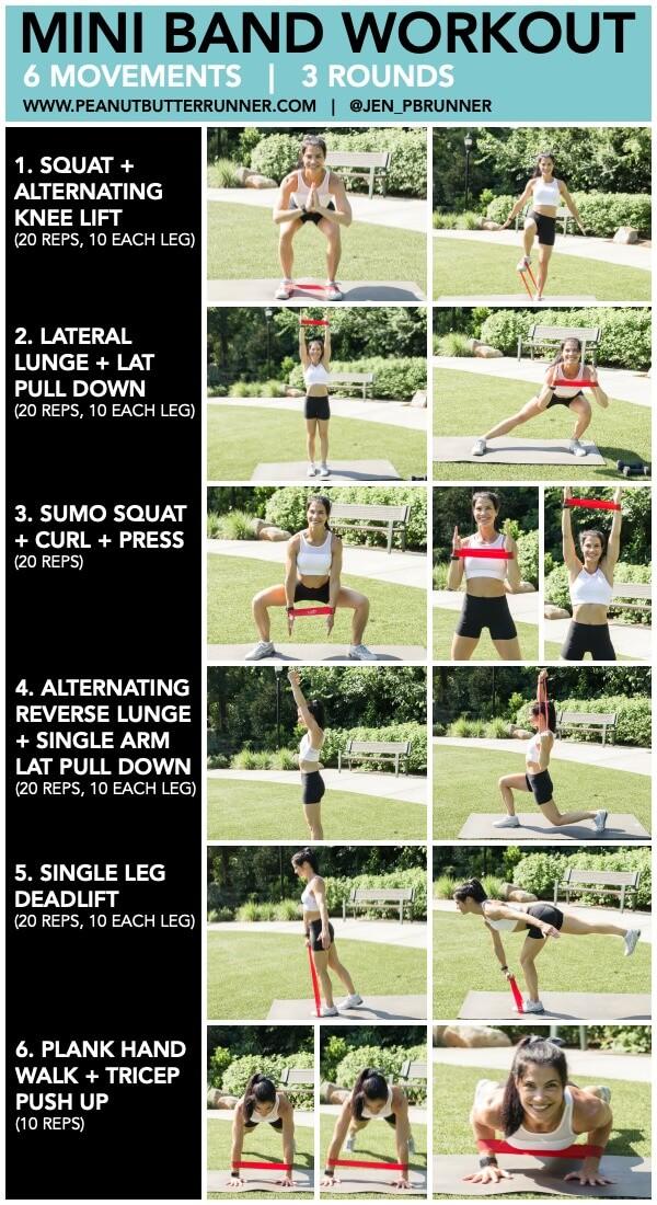 mini band workout