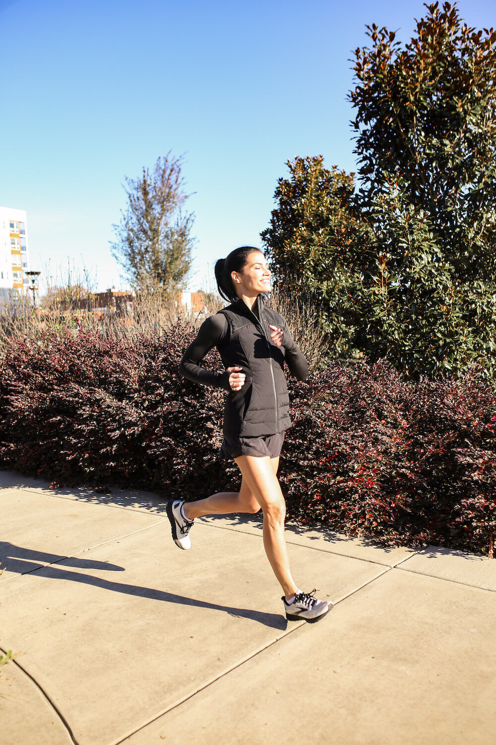 balancing running with strength training and yoga