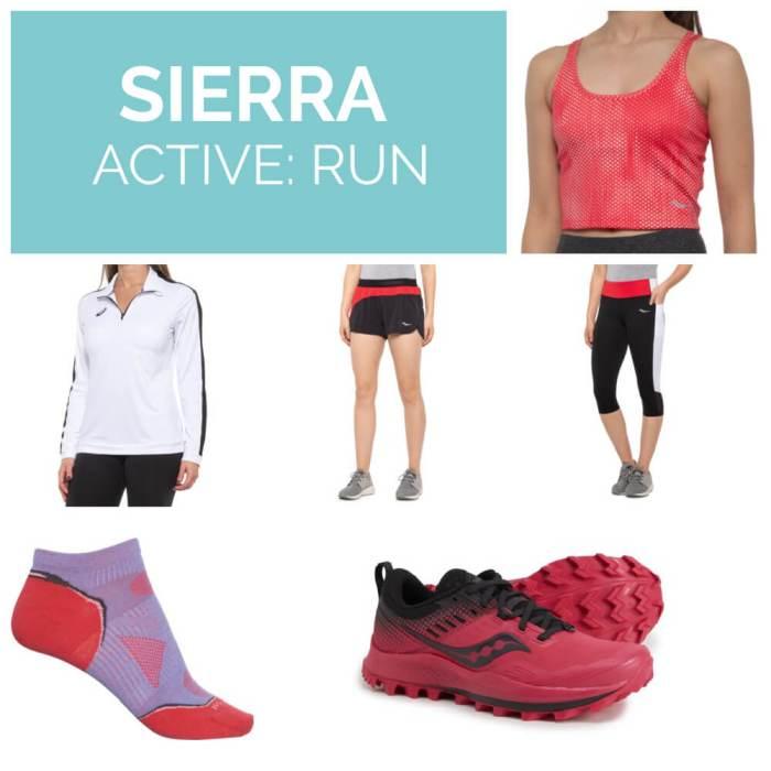Sierra activewear running