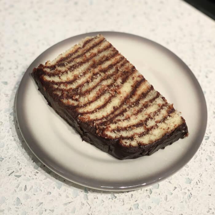 14-layer chocolate cake
