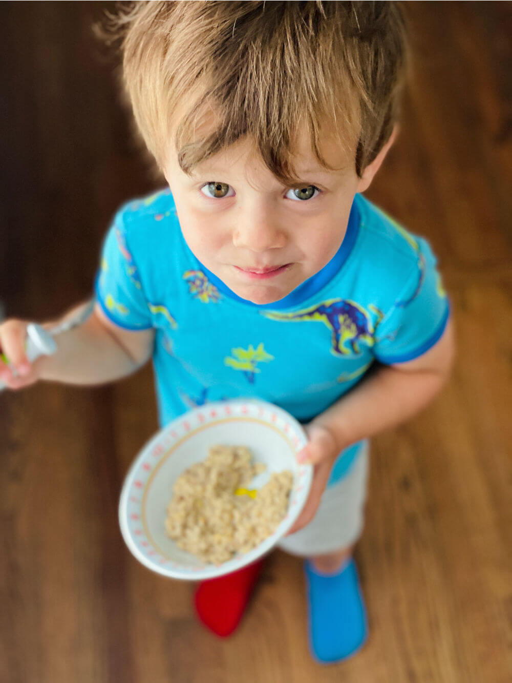 toddler oatmeal