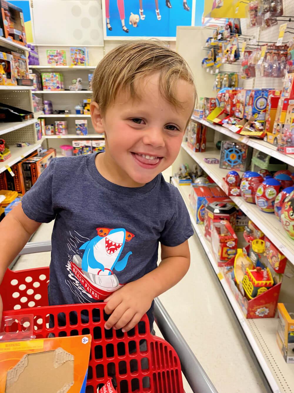 target toy shopping