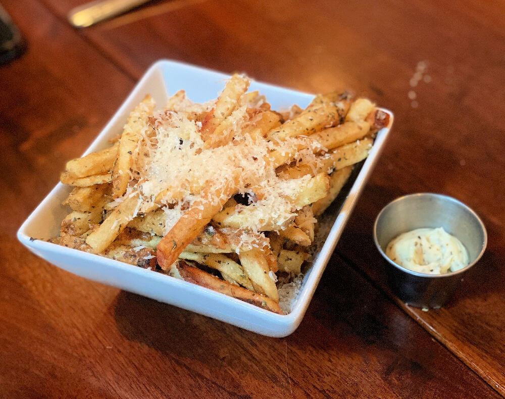 best truffle fries in Charlotte
