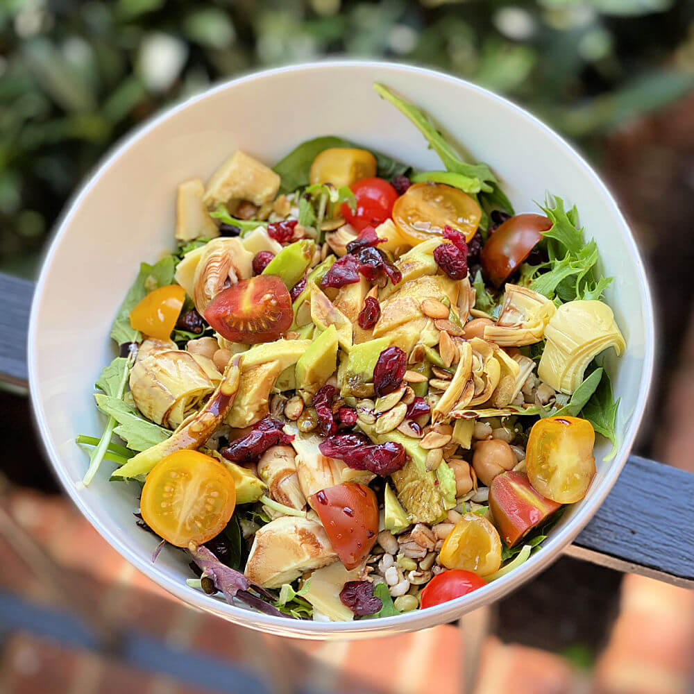 grain blend salad