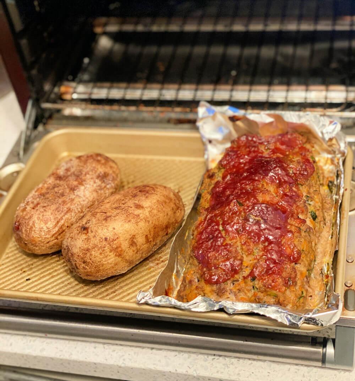 veggie-packed turkey meatloaf