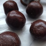 PB & Chocolate Fudge Balls