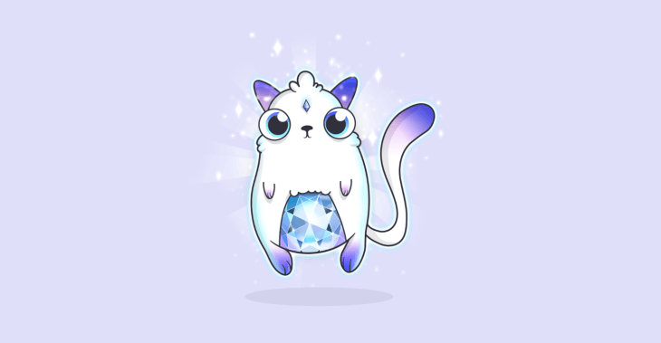 The Most Expensive CryptoKitty