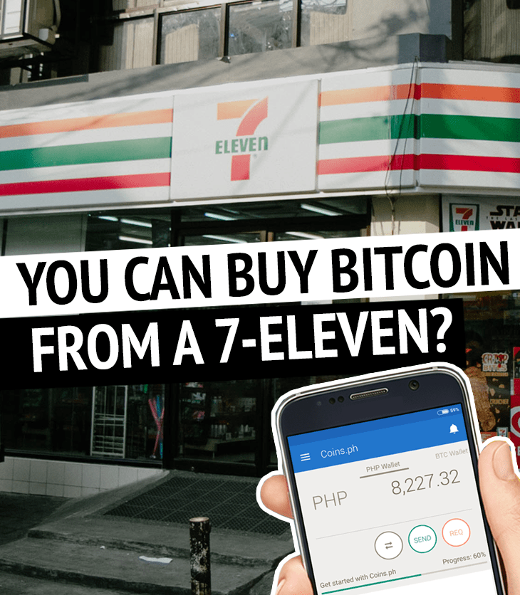 Buy bitcoin from 7-eleven in Manila