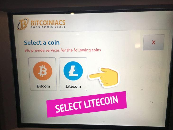 Buy Litecoin at a Bitcoin ATM Manila