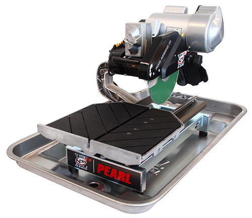 10 pearl professional tile saw