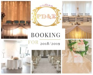 Event decorator, event planner Day of coordination, rentals, now booking, 2018, 2019,