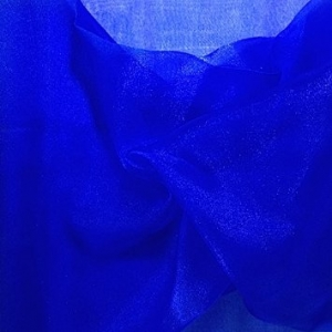 Royal Blue Organza Swag