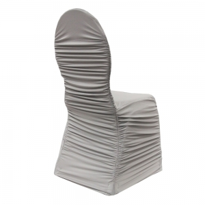 silver / light grey chair covers