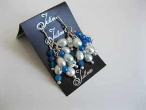 Chloe Cluster Earrings