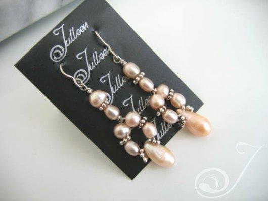 Fairy Floss Cluster Earrings