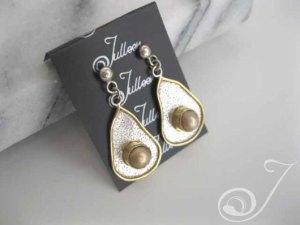 Golden Egg Earring