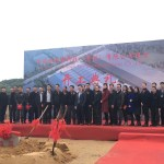 Fisher Tech's Groundbreaking ceremony for the new building in Suzhou