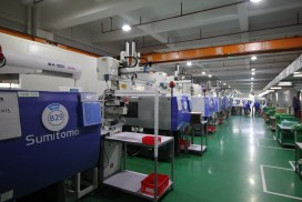Pearl Engineered Solutions injection molding department