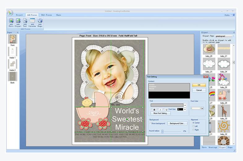 Greeting Card Software Greeting Card Maker Photo