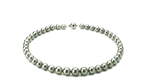 tahitian baroque pearls necklace