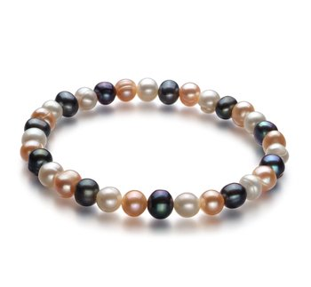 designer multicolored pearl jewelry