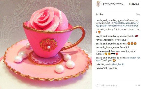 pearl cupcakes