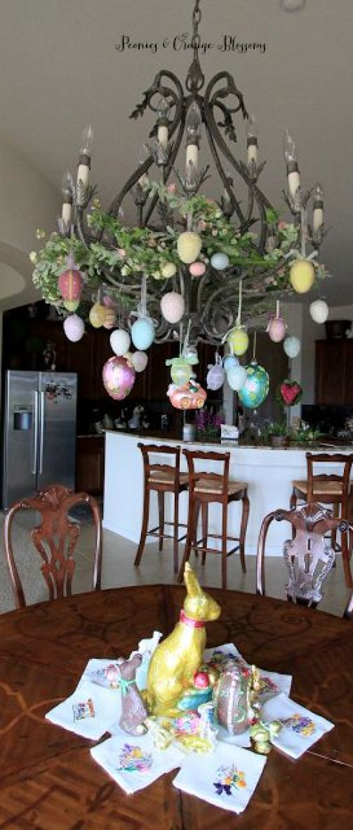 indoor easter decorations