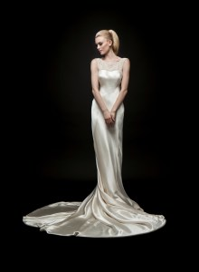 pearl wedding dress